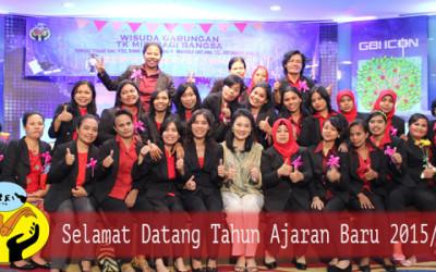 SELAMAT DATANG TAHUN AJARAN BARU 2015/2016