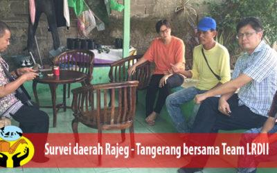 Survei daerah Rajeg – Tangerang bersama team Lima Roti Dua Ikan Indonesia