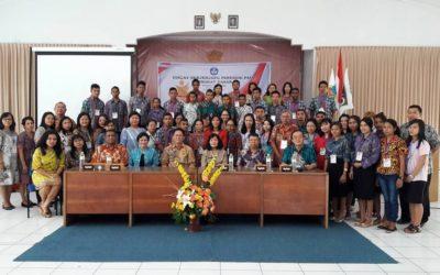 Pembukaan Diklat Berjenjang Pendidik PAUD tingkat Dasar khusus guru-guru