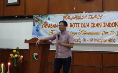 Ibadah Natal Family Day 2016 Lima Roti Dua Ikan Indonesia