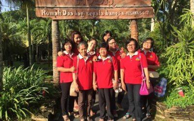 Team DOA LRDII Di Taman Gethsemane Ungaran Jateng