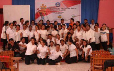 Hari Penutupan Diklat Berjenjang Pendidik PAUD Tingkat Dasar Di Kupang NTT