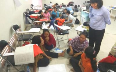 Hari Ke 2 Diklat Berjenjang Pendidik PAUD Tingkat Dasar Di MINTIN Kalteng