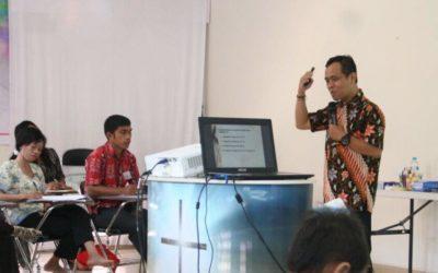 Hari Ke 3 Diklat Berjenjang Pendidik PAUD Tingkat Dasar Di MINTIN Kalteng