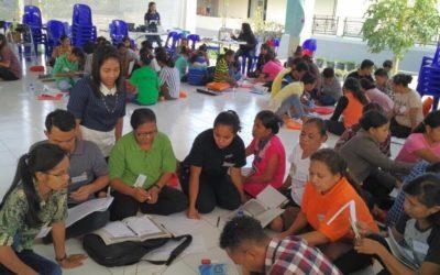 Hari Ke 4 Diklat Berjenjang Pendidik PAUD Tingkat Dasar Di Soe NTT