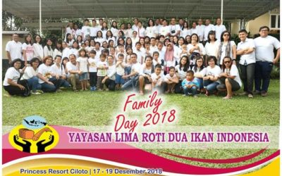 Family Day Yayasan Lima Roti Dua Ikan Indonesia Di Princess Resort Ciloto – Puncak