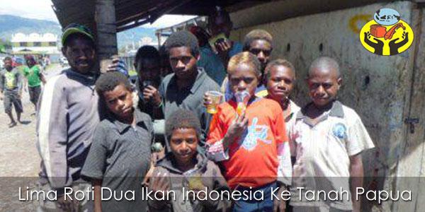 Lima Roti Dua Ikan Ke Tanah Papua