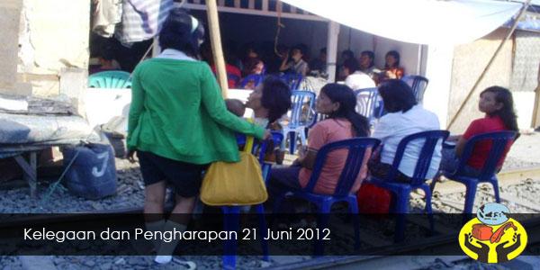 Kelegaan dan Pengharapan 21 Juni 2012