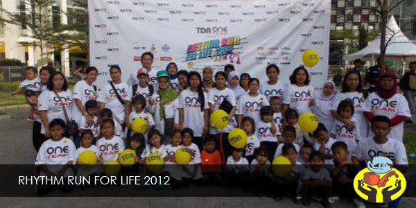 RHYTHM RUN FOR LIFE 2012