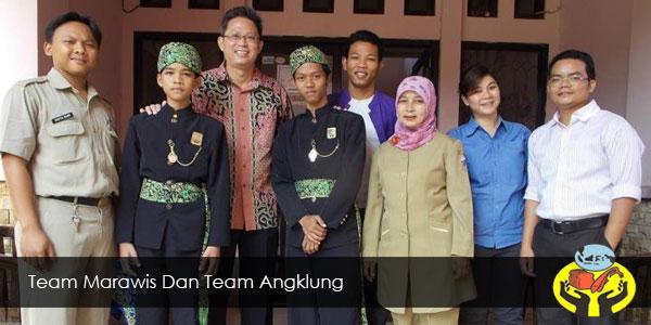 Team Marawis Dan Team Angklung