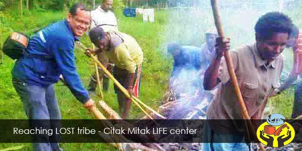 Reaching LOST tribe - Citak Mitak LIFE center