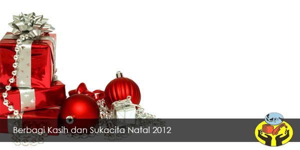 Berbagi Kasih dan Sukacita Natal 2012