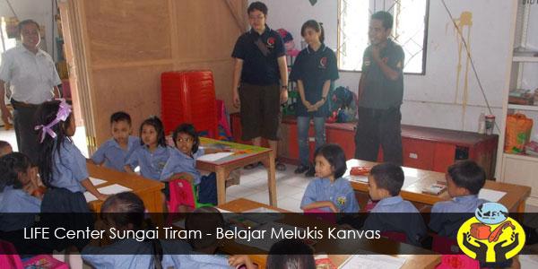 LIFE Center Sungai Tiram - Belajar Melukis Kanvas