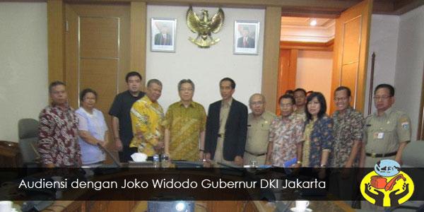 Audiensi dengan Joko Widodo Gubenur DKI Jakarta