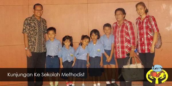 Kunjungan ke Sekolah Methodist
