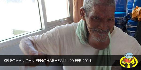 KELEGAAN DAN PENGHARAPAN – 20 FEB 2014