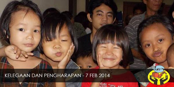 KELEGAAN DAN PENGHARAPAN – 7 FEB 2014
