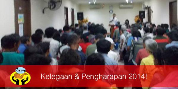 KELEGAAN DAN PENGHARAPAN 2014!
