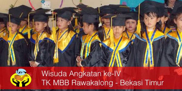 Wisuda Angkatan ke-IV TK MBB Rawakalong – Bekasi Timur