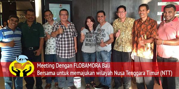 Meeting Dengan Flobamora Bali