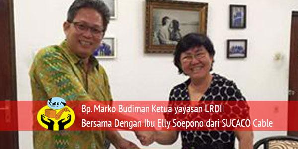 MOU Yayasan Lima Roti Dua Ikan Indonesia Dengan SUCACO Cable