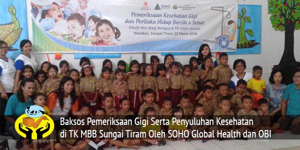 Terima Kasih Kepada SOHO Global Health Dan OBI