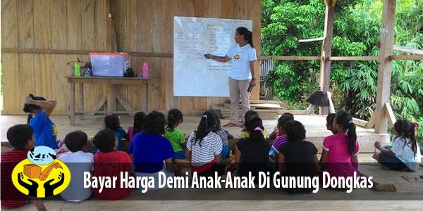 Kegiatan Belajar Di Gunung Dongkas – Parigi Moutong Sulawesi Tengah