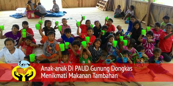 Perkembangan Kegiatan Pendidikan di PAUD Gunung Dongkas