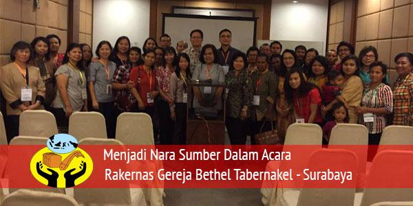 """Presentasi Tentang """"Pelayanan Anak"""" di Rakernas Sinode GBT Surabaya"""