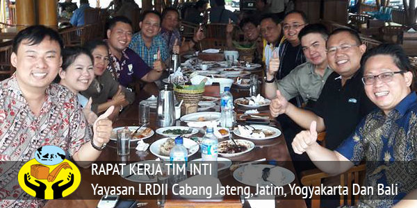 Rapat Kerja LRDII Cabang Jateng, Jatim, Yogyakarta Dan Bali