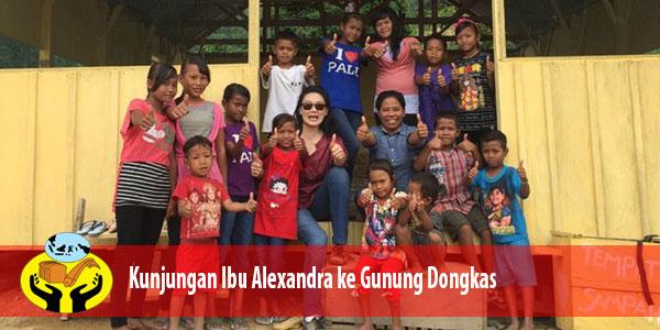 Ada apa diatas puncak gunung Dongas Sulawesi?