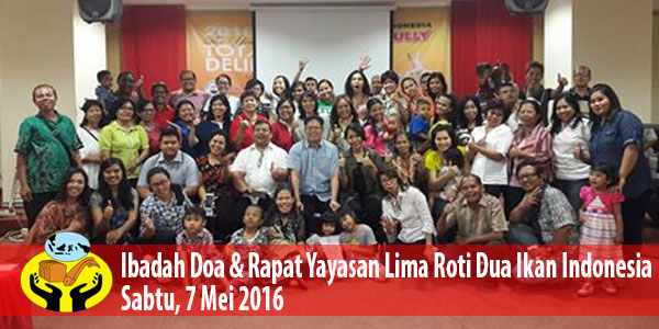 Ibadah Misi & Doa Pekerja LRDII