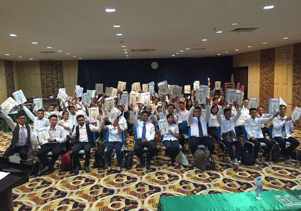 Penutupan Diklat Berjenjang Pendidik PAUD Tingkat Dasar di STT REAL Batam