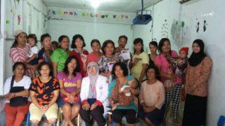 Sosialisasi bahaya Kanker Servik di Jatimulya Life Center