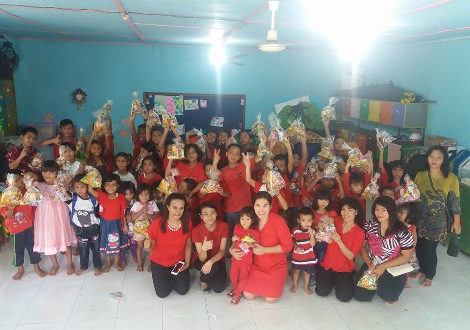 Perayaan hari Kemerdekaan RI di SM GKTI LRDII Sungai Tiram