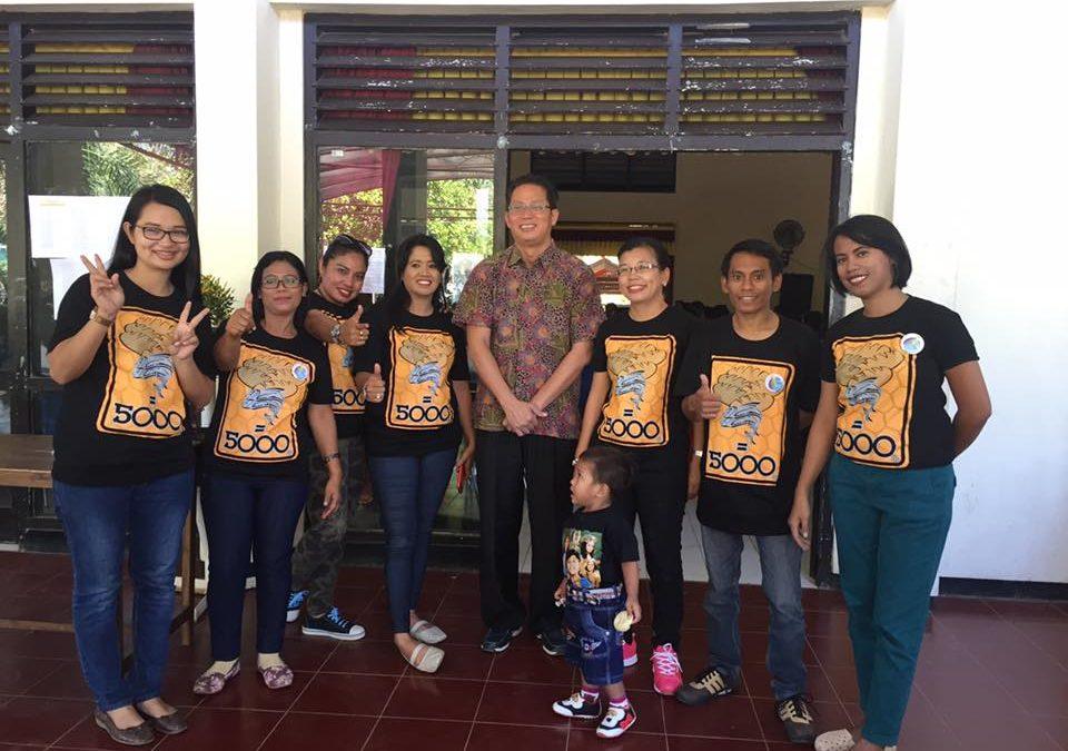 Panitia Pusat Diklat Berjenjang Pendidik PAUD Tingkat Dasar di Kupang NTT