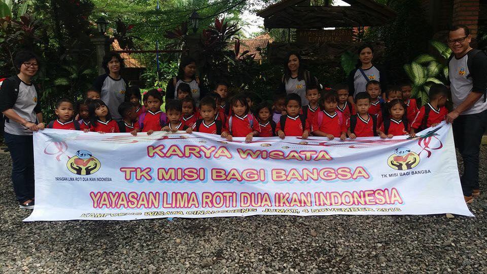 Karya Wisata TK Misi Bagi Bangsa