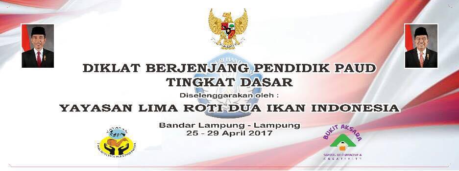 Diklat Berjenjang Pendidik PAUD Tingkat Dasar – Lampung