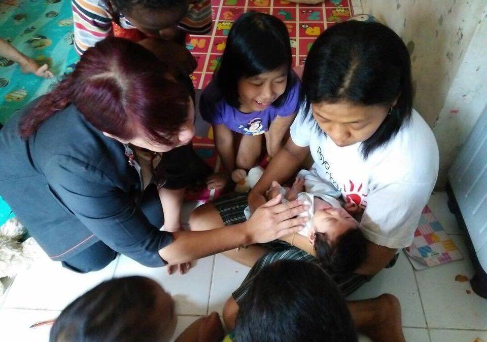 Kunjungan Ke Anak-Anak Penderita HIV Aids