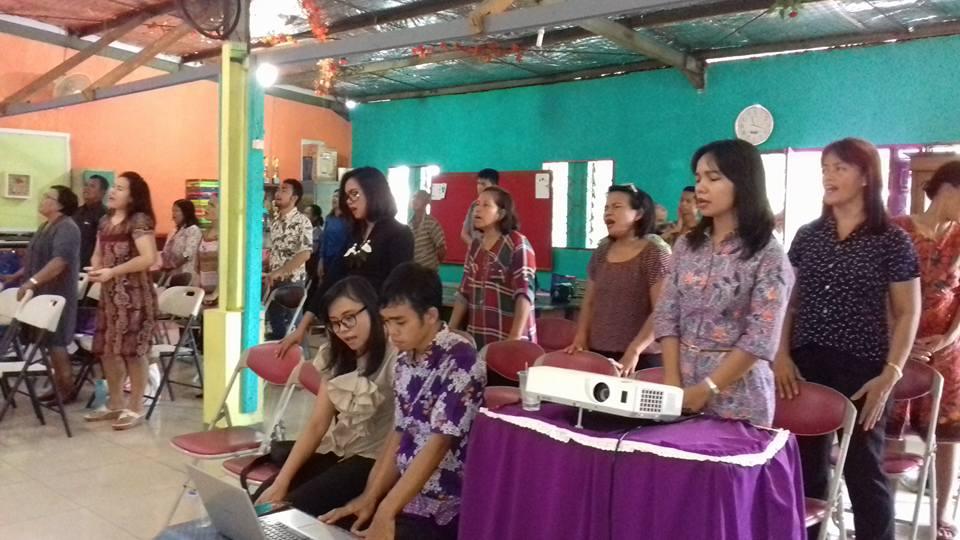 Ibadah Raya GKTI Jemaat Lima Roti Dua Ikan Indonesia