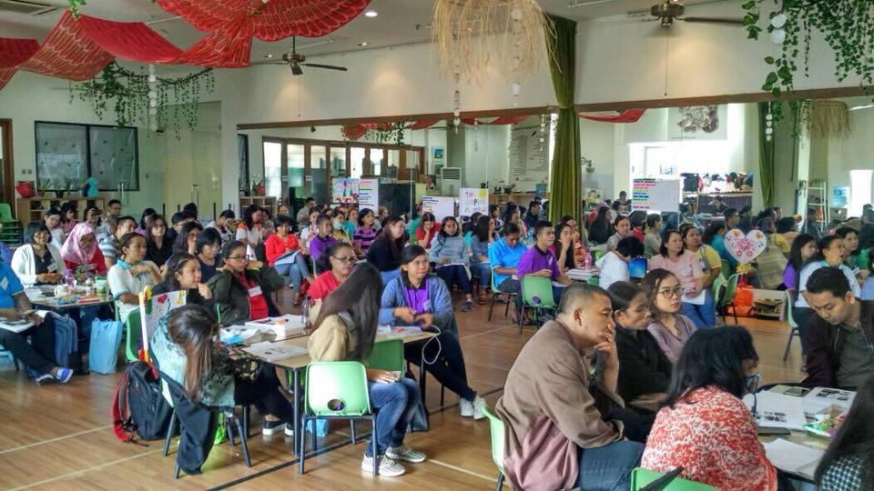 Hari #2 Diklat Berjenjang Pendidik PAUD Tingkat Dasar Khusus Rayon 1F