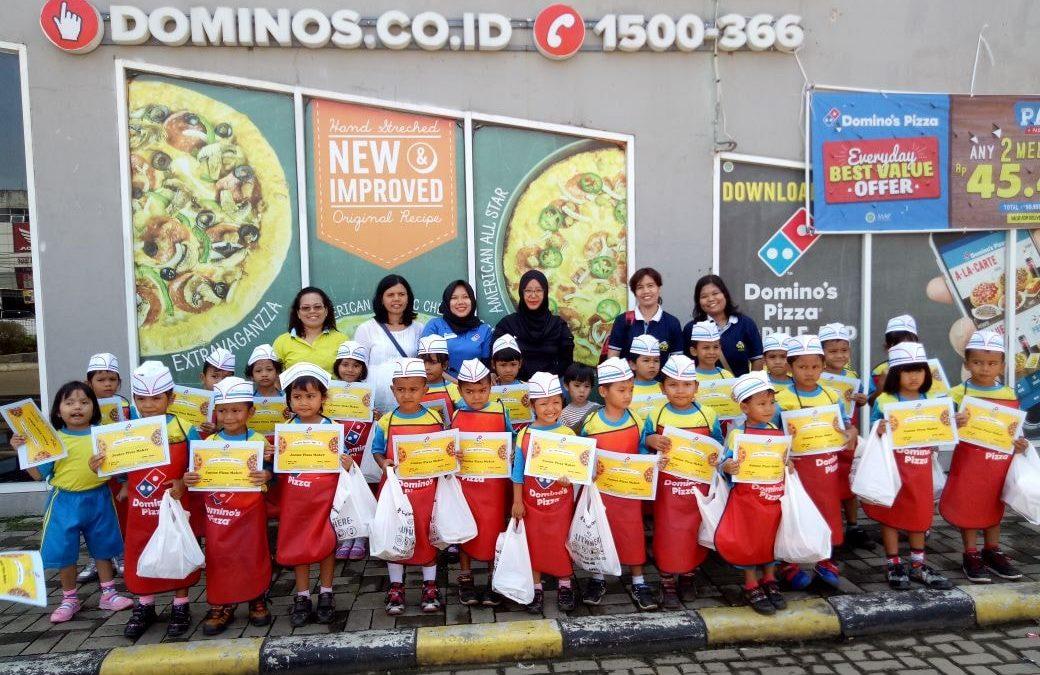 PAUD MBB JATIMULYA Store Tour Ke Domino's Pizza BTC Mall Bekasi