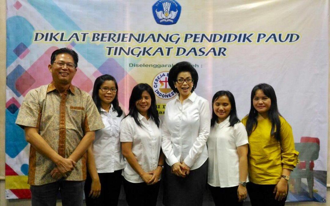 Hari Terakhir Diklat Berjenjang Pendidik PAUD tingkat Dasar BPD Sinode GBI Jakarta – Jum'at 9 Maret 2018