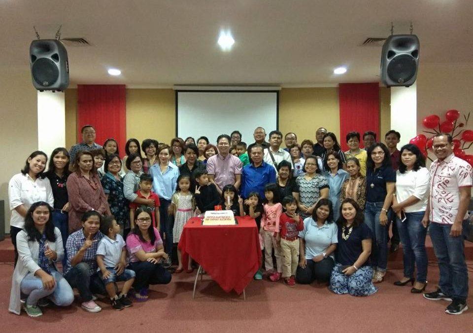 Perayaan Ulang Tahun Ketua Yayasan Lima Roti Dua Ikan Indonesia