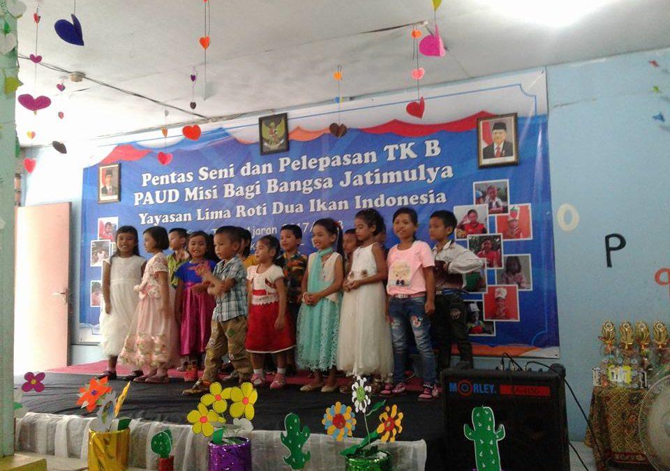 Pentas Seni & Pelepasan TK B Paud MBB Jatimulya