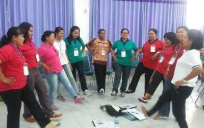 Hari ke 2 Diklat Berjenjang Pendidik PAUD Tingkat Dasar Jayapura