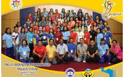 Hari Ke 3 Diklat Berjenjang Pendidik PAUD Tingkat Dasar Jayapura