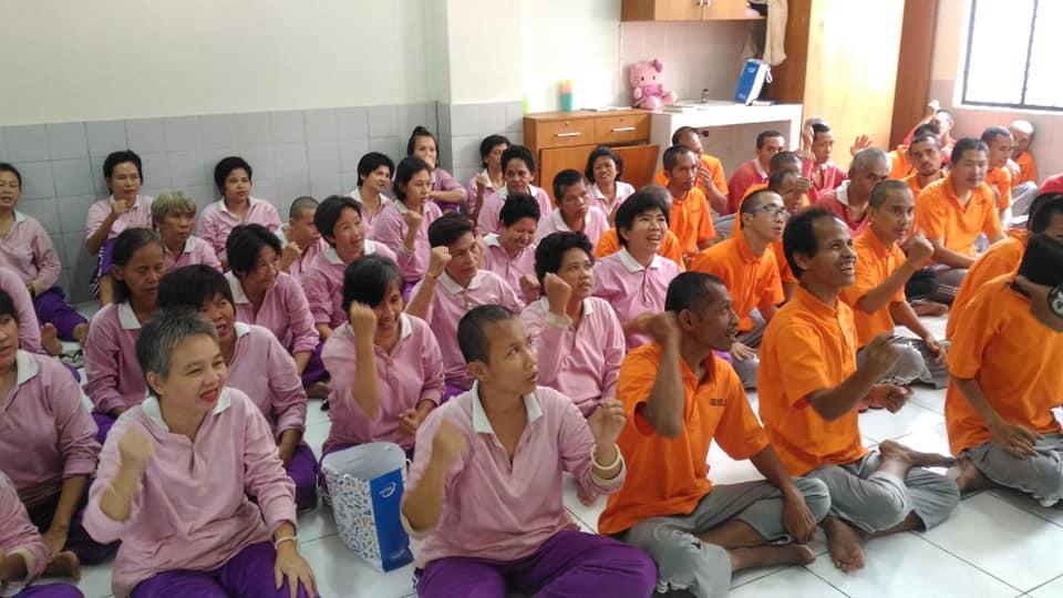 Suasana Ibadah Bersama WBS PSBL 3 Daan Mogot