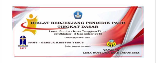 Diklat Berjenjang Pendidik PAUD Tingkat Dasar Nusa Tenggara Timur