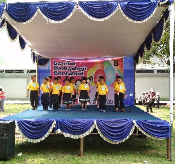 Lomba Menyanyi Bersama Gebyar TK Kecamatan Tambun Selatan
